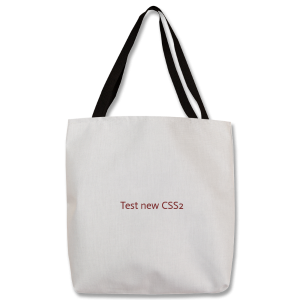 """Test CSS2 - Tote 16""""x16"""" - with Adjustable Handle"""